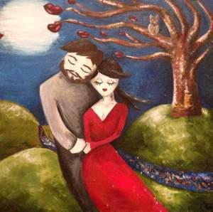 Lukisan cinta